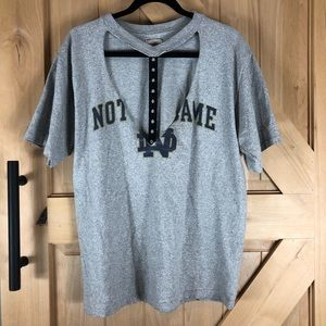Furst of a Kind Notre Dame Cut Out Shirt